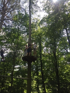 GO APE ARTICLE PICS - JACK, CHRIS AND MOLLY